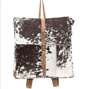 Cowhide Backpack